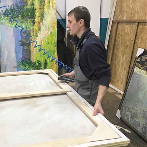 Миниатюра к статье багетная мастерская о секретах оформления крупногабаритных картин