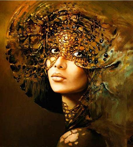 кэрол бак женщина в маске
