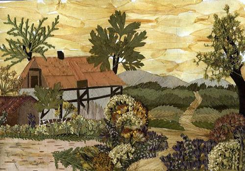 ошибана дом в деревне