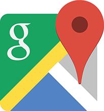 Лого Гугл карты